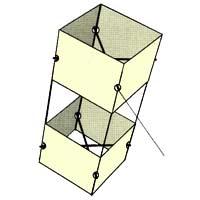 Brooxes basic box kite brooks leffler kite plan base kpb for Indoor kite design