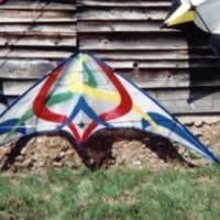 Indoor baccarat kite plan base kpb for Indoor kite design