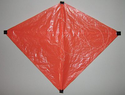 How to build a diamond kite instructions for the mbk 2 skewer diamond kite - How to make a kite ...