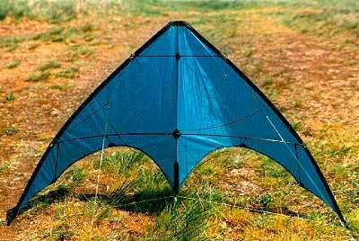 Zero wind and indoor kite trick tac for Indoor kite design