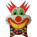 Clown kite