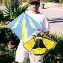 Vic's Fighter Kite