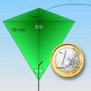 Square incher microkite