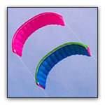Traction kites
